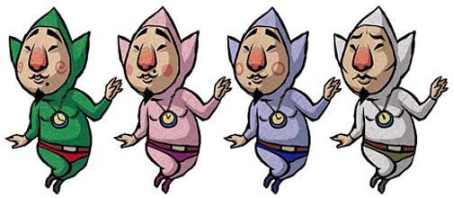 1.Tingle – Zelda Series
