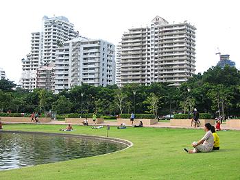 สวนเบญจกิติ ปอดกลางเมืองของคนกรุงเทพ