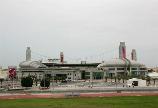 สนามฟุตบอลใน อัล ซาอัดด์ สปอร์ต คอมเพล็กซ์