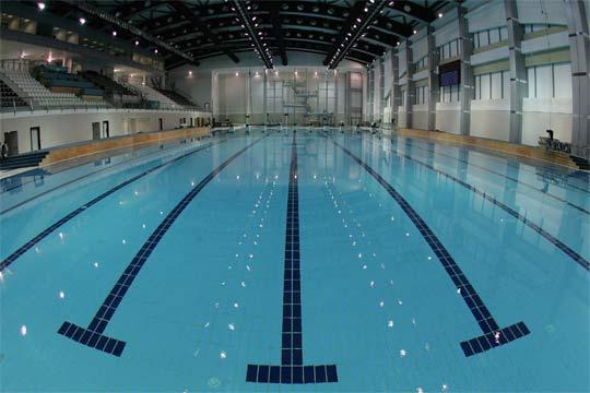สนามแข่งขันโปโลน้ำ ที่ อัล ซาอัดด์ สปอร์ตส คอมเพล็กซ์