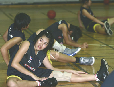 ทีมบาสฯ หญิงไทย เก็บตัวกันมานาน