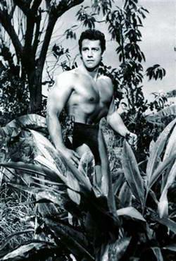 กอร์ดอน สก๊อตต์ สวมบททาร์ซาน เมื่อปี 1953