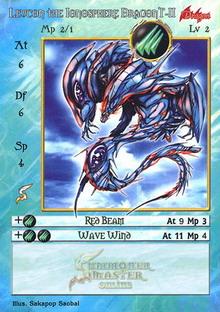 Leucon, the Ionosphere Dragon T-II