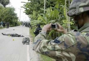 เหตุความรุนแรงซึ่งยังเกิดขึ้นรายวันใน 3 จังหวัดชายแดนภาคใต้ของไทย