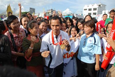 นักชกขวัญใจชาวไทย