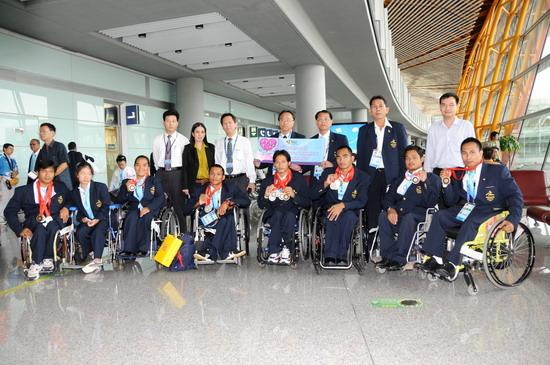 ทัพนักกีฬาไทยที่ได้รับเหรียญรางวัล