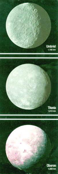 ดวงจันทร์บริวารของยูเรนัส