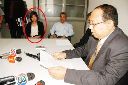 น.ส.รพี วุฒิมานานนท์ สถาปนิกชื่อดังเข้าแจ้งความถูกปลอมลายเซ็น