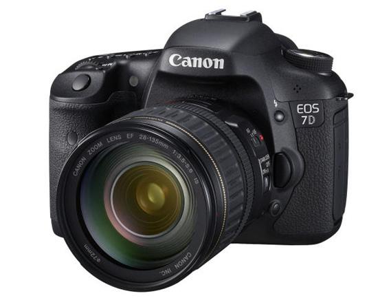 ตัวจริงมาแล้ว! Canon 7D เซ็นเซอร์ 18MP APS-C CMOS ตามคาด