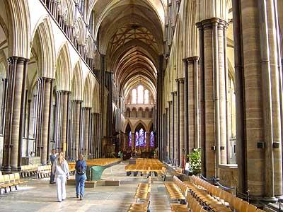 บรรยากาศแบบกอธิคใน Salisbury Cathedral