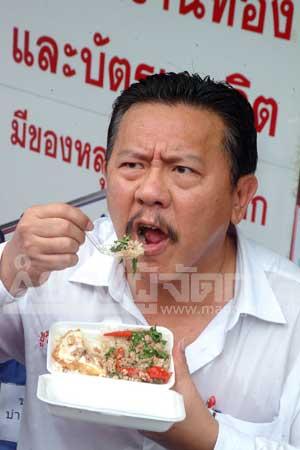 นายชูวิทย์ กมลวิศิษฐ์ หัวหน้าพรรครักประเทศไทย (แฟ้มภาพ)