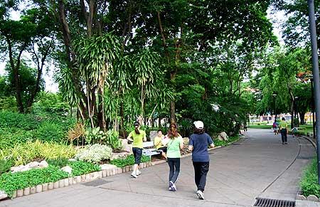 สวนสวยน่าออกกำลังกาย