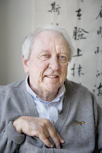 โทมัส ทรานสโทรเมอร์ กวีชาวสวีเดน วัย 80 ปี