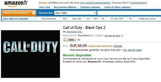 """อเมซอนฝรั่งเศสปูด""""Black Ops 2"""" ซีอีโอแอคติวิชันควบตำแหน่ง """"โคคาโคลา"""""""