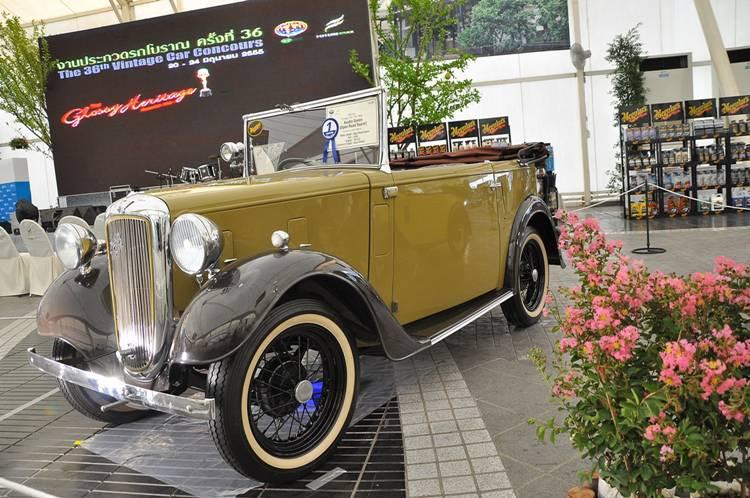 Austin Seven (Open Road Tourer) ปี 1935 ชนะเลิศประเภทรถโบราณก่อนปี 1940