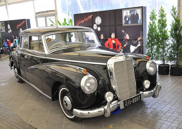 Mercedes-Benz 300B ปี 1954 ชนะเลิศประเภทรถหลังสงคราม ระหว่างปี 1940-1955