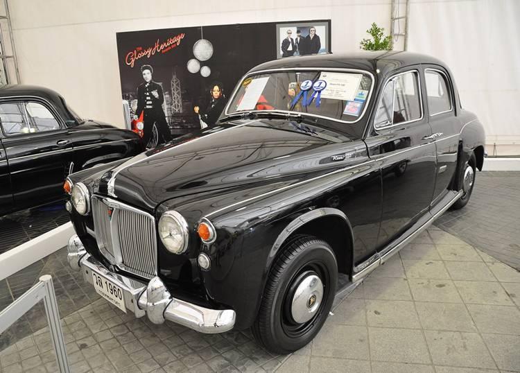 Rover P4 100 ปี 1960 ชนะเลิศประเภทรถคลาสสิกเก๋ง 4 ประตู