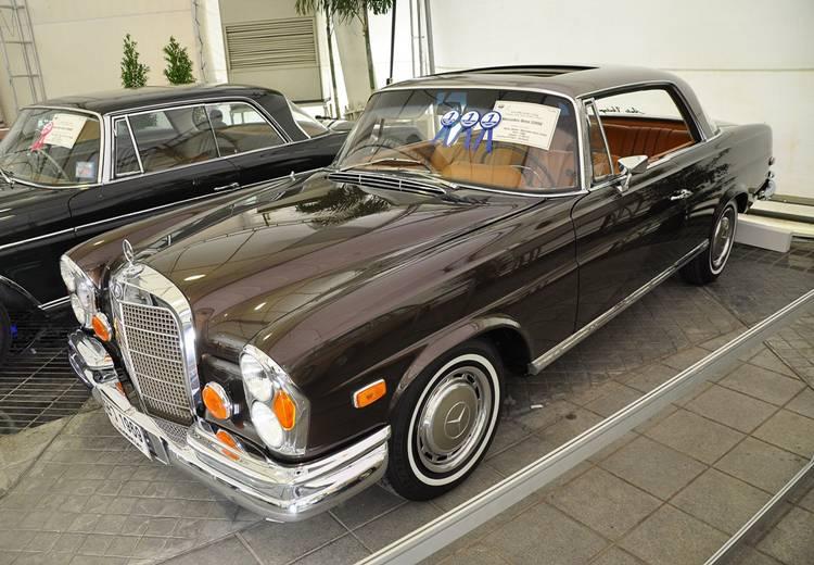 Mercedes-Benz 280SE ปี 1969 ชนะเลิศประเภทรถคลาสสิกสปอร์ต 2 ประตู