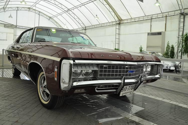 Chevrolet Caprice(327) ปี 1969 ชนะเลิศประเภทรถอเมริกัน