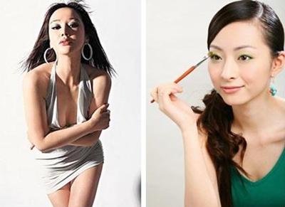 เวิน เจียหรง นางแบบชาวจีนแผ่นดินใหญ่ที่ออกมาแฉพฤติกรรมด้านลบของ เวิน เจ้าหลุน ในวัย 50 ปี(ซ้าย) ,  ภรรยาคนล่าสุด เจ้า ถิง(ขวา)