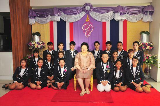 พระเจ้าวรวงศ์เธอ พระองค์เจ้าโสมสวลี พระวรราชาทินัดดามาตุ เสด็จเปิดโรงเรียนเสริมสวยชลาชล