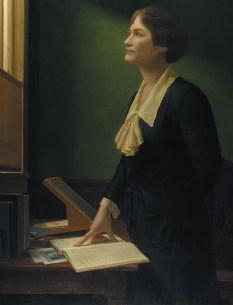 ภาพเหมือนของ Payne – Gaposchkin ในห้องประชุมของมหาวิทยาลัย Harvard