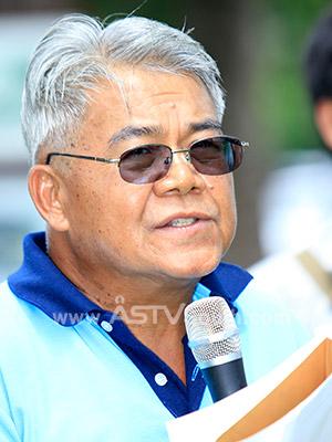 ดร.โอภาส ปัญญา ประธานผู้บริหารสมาคมกรีนพีซ เอเชียตะวันออกเฉียงใต้