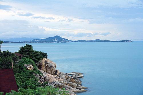 ทัศนียภาพเกาะสมุย