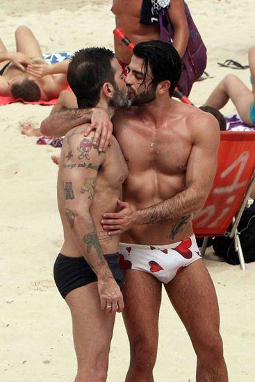 Marc Jacobs และ Harry Louis สมัยยังรักกันหวานชื่น