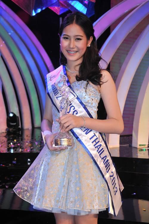 อีฟ-อิสรียา ชื่นชอบ รองอันดับ 2 มิสทีนไทยแลนด์ 2013