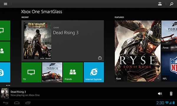 """แอพพลิเคชัน """"Xbox One SmartGlass"""" ปล่อยโหลดแล้วทุกระบบ"""