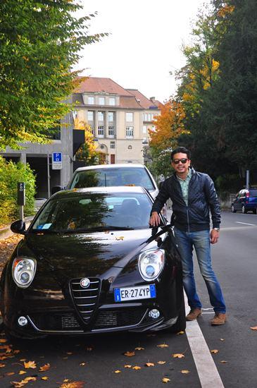 รถที่ใช้ขับในทริปยุโรป