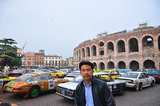 เทศกาลรถวินเทจที่เวโรนา อิตาลี