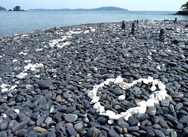 เกาะหินงามกับหาดหินที่ไม่เหมือนใคร