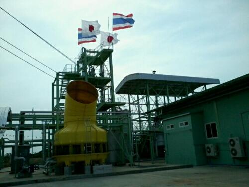 โรงงานแห่งแรกในไทยที่สามารถผลิตเอทานอลจากกากมันสำปะหลังได้ โดยอาศัยเทคโนโลยีจากญี่ปุ่น