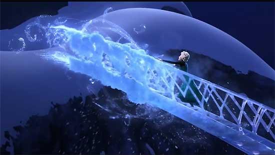 เอลซ่า ปลอดปล่อยความอัดอั้นในเพลง Let It Go