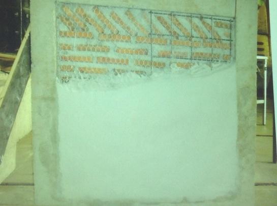การเสริมลวดโครงไก่ให้ผนังเพื่อเสริมแรงแก่อาคารเก่ารองรับแผ่นดินไหว
