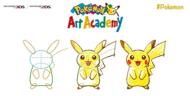 """Pokemon Art Academy"" ยืนยันเวอร์ชันอังกฤษลงแผง 4 ก.ค."