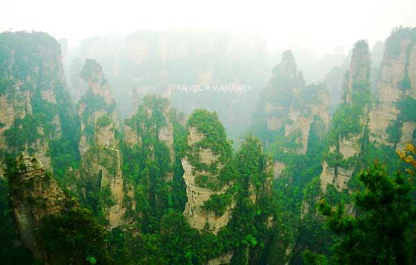 มหัศจรรย์แห่งธรรมชาติที่ขุนเขาอวตาร เมืองจางเจียเจี้ย