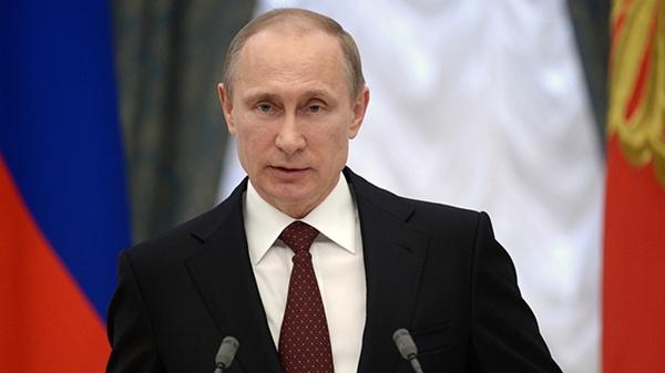 Vladimir Putin ผู้ต้องสงสัย