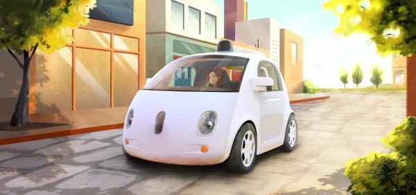 รถไร้คนขับหรือ self-driving car รุ่นต้นแบบล่าสุดที่กูเกิลเปิดตัวอย่างเป็นทางการ