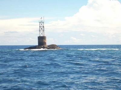 เกาะโลซิน อยู่ห่างชายฝั่งปัตตานีราว 70 กิโลเมตร (ภาพจากอินเตอร์เน็ต)