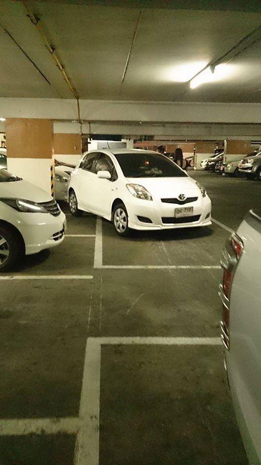 รถคุณโดนเข็นมาใช่มไหม คุณไม่น่าจอดแบบนี้แน่ๆ