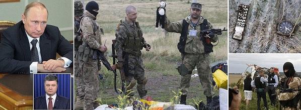 รัฐบาลยูเครนใช้ภาพเด็กทารกนอนจมกองเลือดโจมตีประธานาธิบดีวลาดิมีร์ ปูติน แห่งรัสเซีย ล่าสุดเมื่อคืนวานนี้(18) หลังจากเผยแพร่ภาพสุดสยองรูปซากเด็กทารกนอนจมกองเลือดรวมกับเด็กอื่นๆที่เป็นผู้โดยสารราว 80 คน ที่มีเด็กทารก 3 คนรวมอยู่ในนั้น