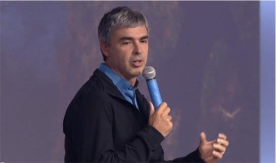 ผู้ก่อตั้ง Google แลร์รี่ เพจ (Larry Page) วัย 41 ปี