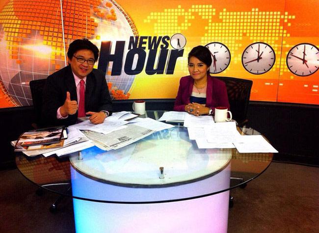 ชมรายการ News Hour แพร่ภาพผ่านอินเทอร์เน็ตวันแรก 29 ก.ค. 2557