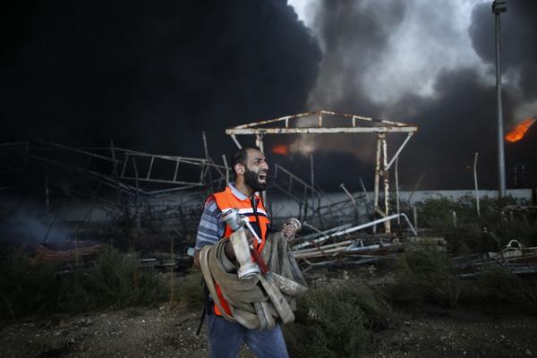 """รัฐยิวถล่มโรงไฟฟ้ากาซา """"เดี้ยง"""" อิหร่านเร้า ปท.มุสลิมติดอาวุธฮามาส"""