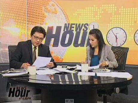 ชมรายการ News Hour แพร่ภาพผ่านอินเทอร์เน็ต 1 ส.ค. 2557
