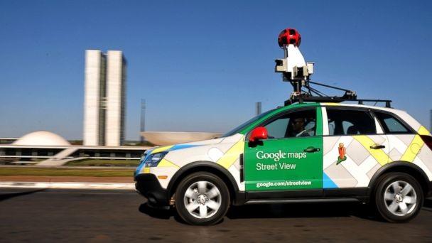 รถยนต์ที่ติดตั้งกล้องแบบพิเศษในโครงการ Google Street View