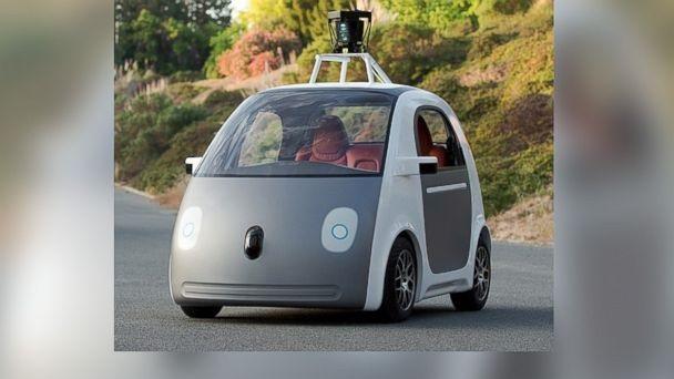 ต้นแบบรถขับเคลื่อนตัวเองของกูเกิล